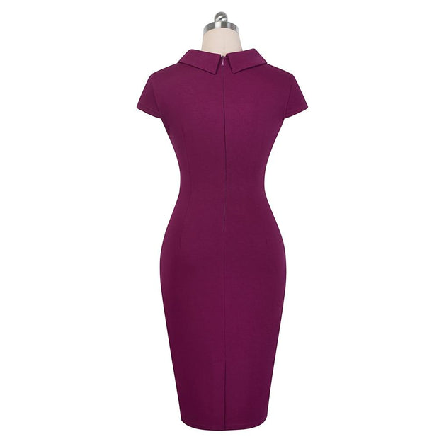ORLA - Knee-Length Pencil Dress - women's clothing
