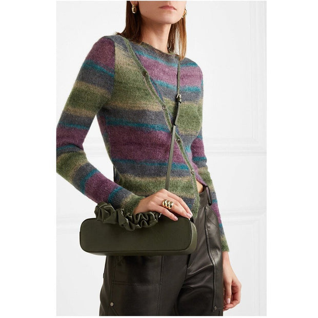 Palmer Dark Green Tote - Women's Bags