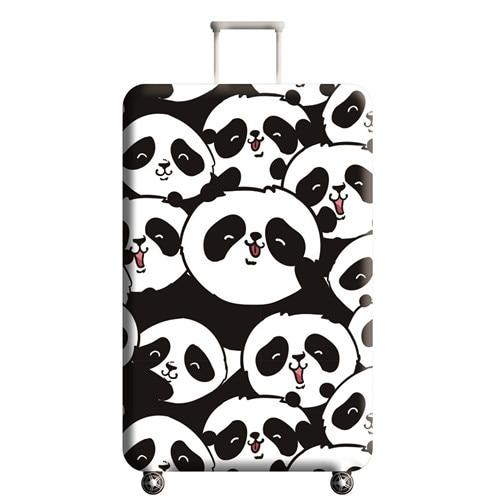 Panda Travel Luggage Cover - 09 / L - Luggage covers