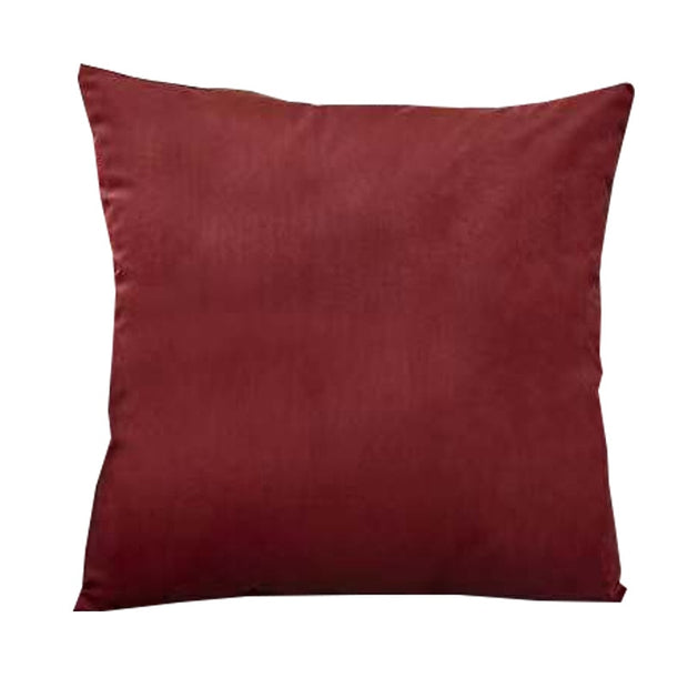 Rust Velvet Pillow Cover