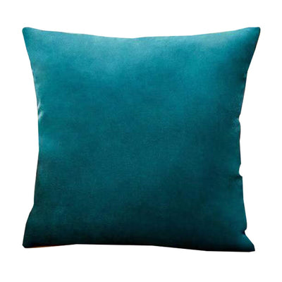 Teal Velvet Pillow Cover