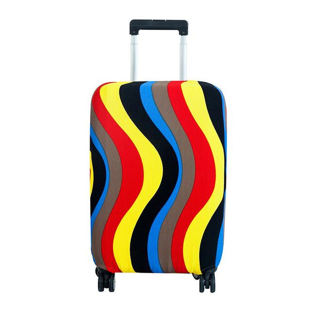 Playful Colors Luggage Cover - Color corrugated / L 24 -