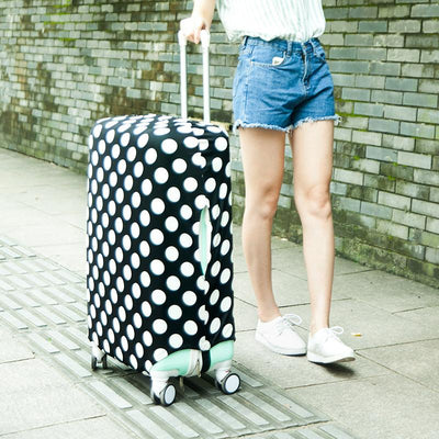 Polka Dot Luggage Cover - Luggage covers