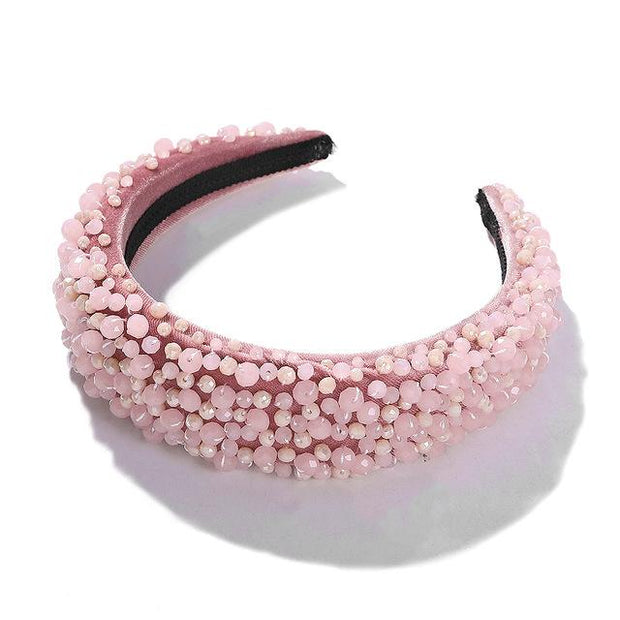 Pretty n Pink Crown Halo - Hair Jewelry