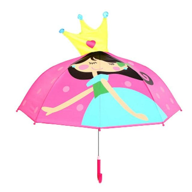 Princess 3D Umbrella - Kids Umbrellas