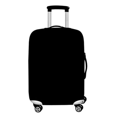 Black Luggage Cover