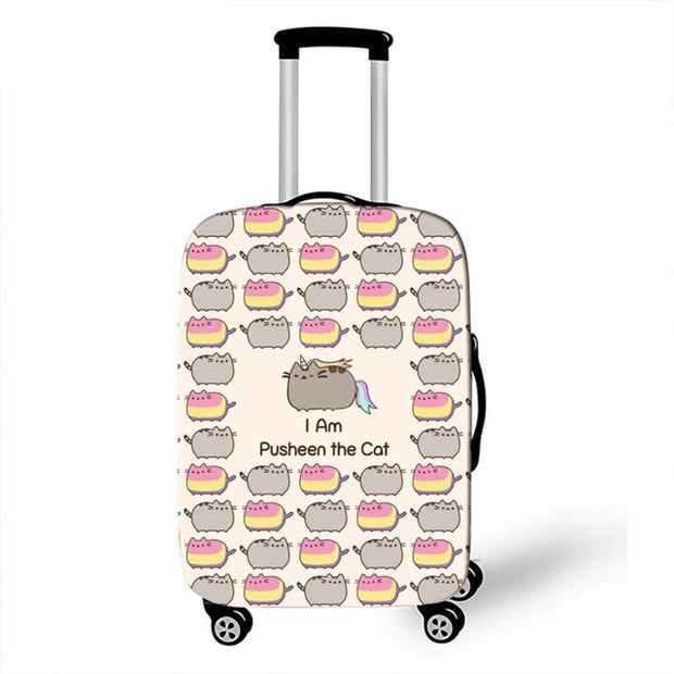Pusheen Luggage Cover