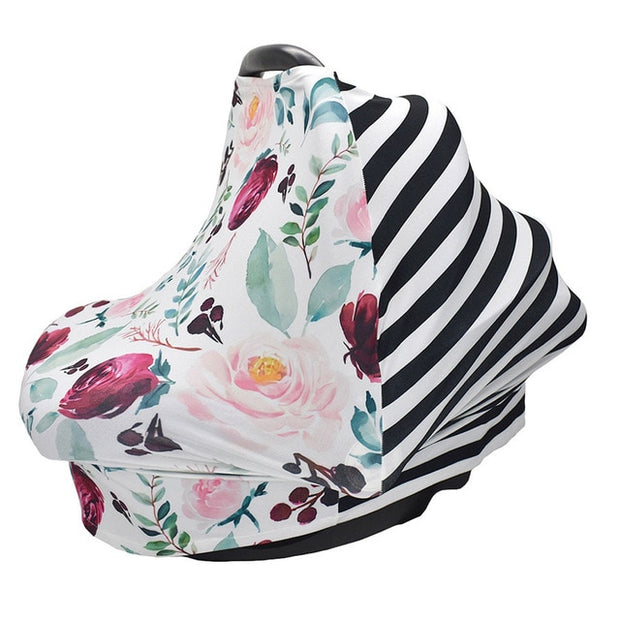 5-in-1 Multi-functional Infant Car Seat Cover