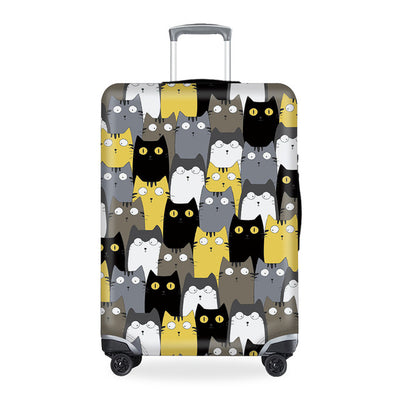 World of Cats Luggage Cover