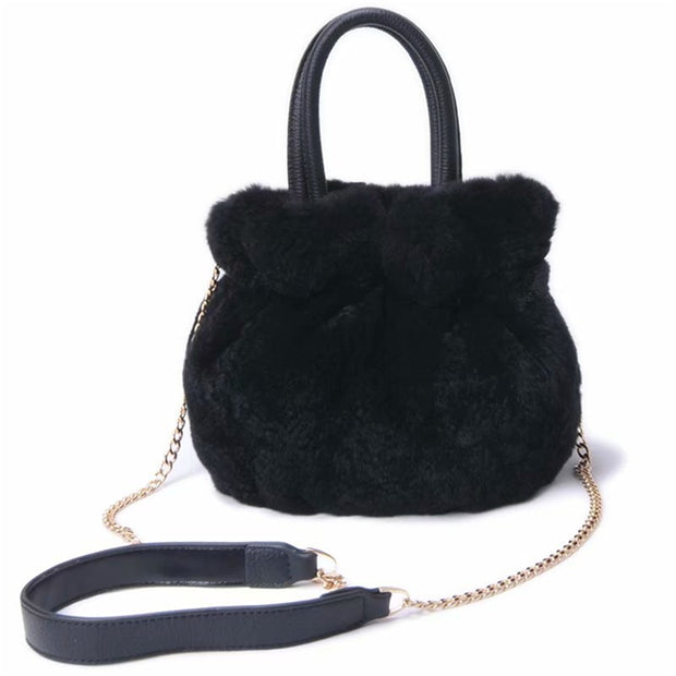 Kennedy  Tote - Rex Rabbit Bucket Bag