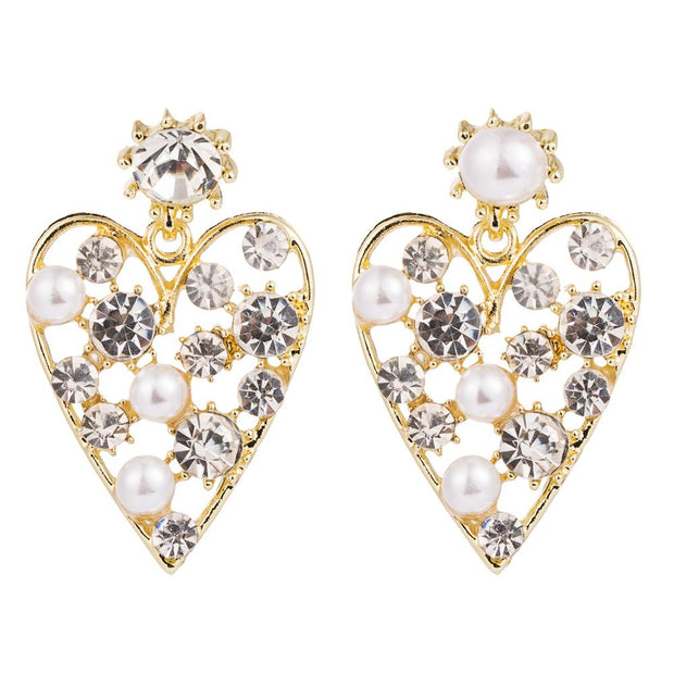 ELASI - Diamante Heart Earrings