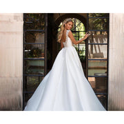 URSALA - Satin Wedding Dress