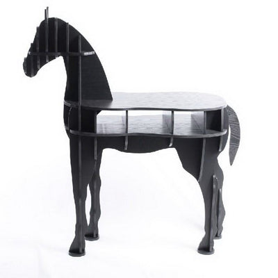 Horse Side Table - Black