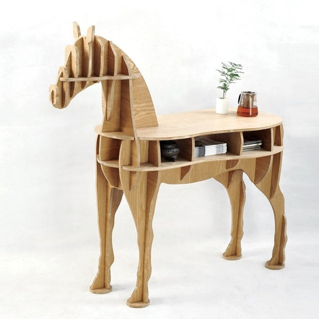 Horse Side Table - Willow