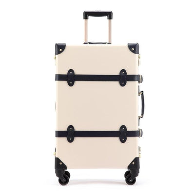 Genuine Leather Vintage Suitcase - Limited Release!