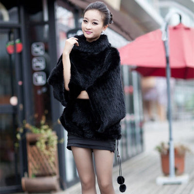 Thea - Mink Fur Sweater Coat