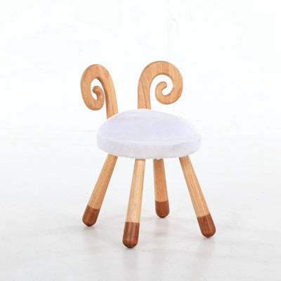 Wooden Animal Chairs-Sheep