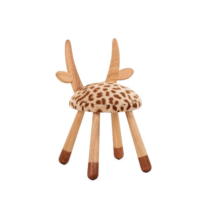 Wooden Animal Chairs-Giraffe