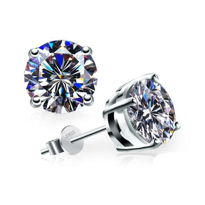 3ct Cubic Zirconia Earrings