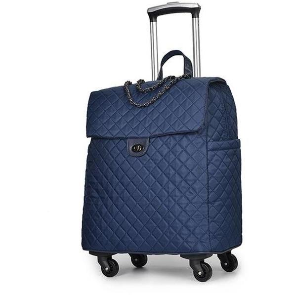 Quilted Travel Bag - Women's suitcase
