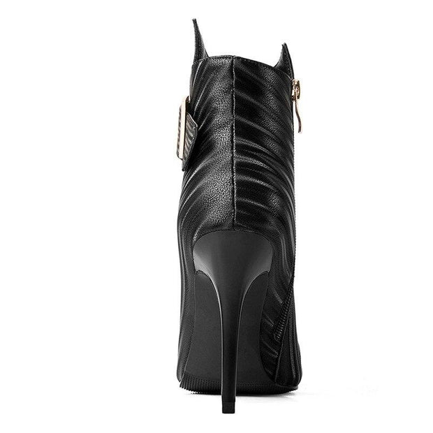 Rosalie Ankle Boot with Side Buckle - women's boots