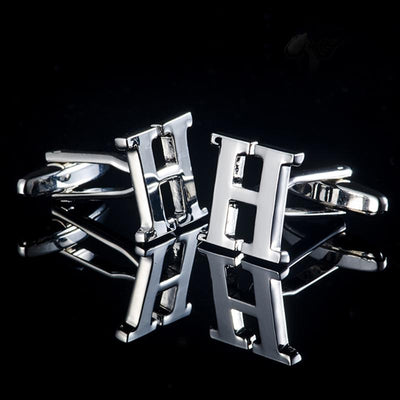 Silver Personalised Cufflinks - Men's cufflinks