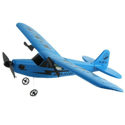 SKYRC Remote Control RC Helicopter Plane Glider - blue -