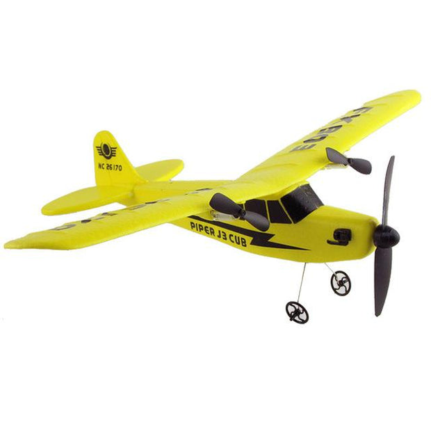 SKYRC Remote Control RC Helicopter Plane Glider - yellow -