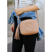 Soho Crossbody Bag - Beige - Women's Bags
