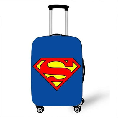 Superman Luggage Cover - pxtgothic71 / S - Luggage covers