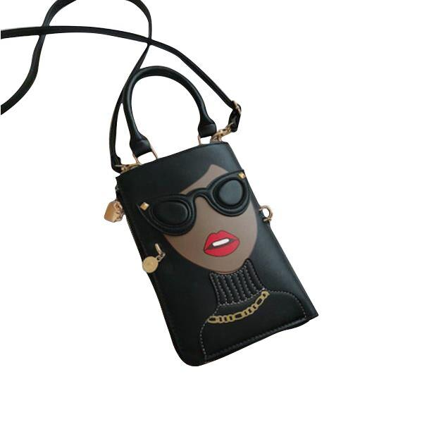 The 3D Accessory Tote - Black - Women's Bags
