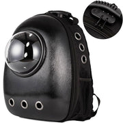The Space Capsule Backpack - Black With Exterior Lock / M -