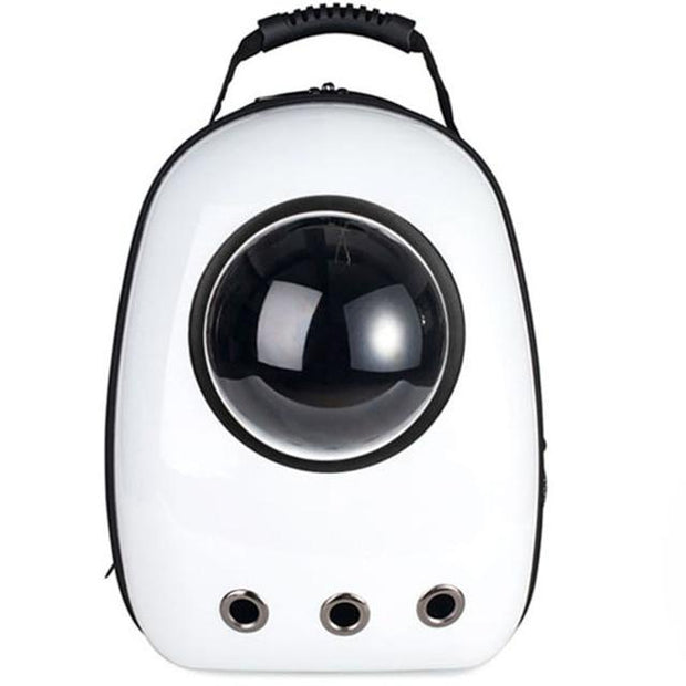 The Space Capsule Backpack - Ice White / M - Pet Carrier and