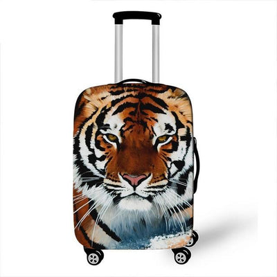 Tiger Luggage Cover - 26 / L - Luggage covers