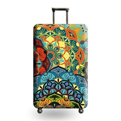 Travel Luggage Cover - 05 / L - Luggage covers