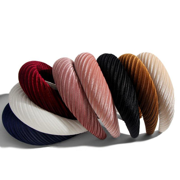 Velvet Padded Headbands - Hair Jewelry