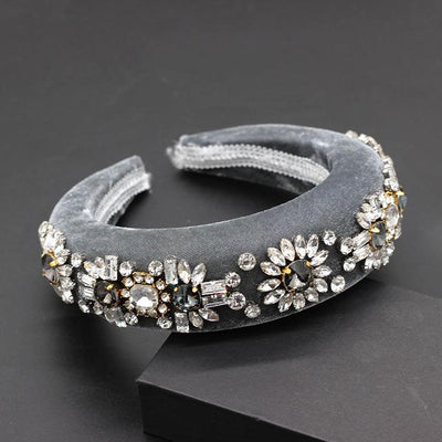 Velvetina Crown Halo - Hair Jewelry