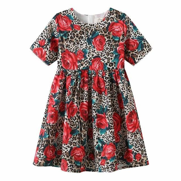 VENSA - Floral Print Cotton Dress - 81 / 2T - girls dresses