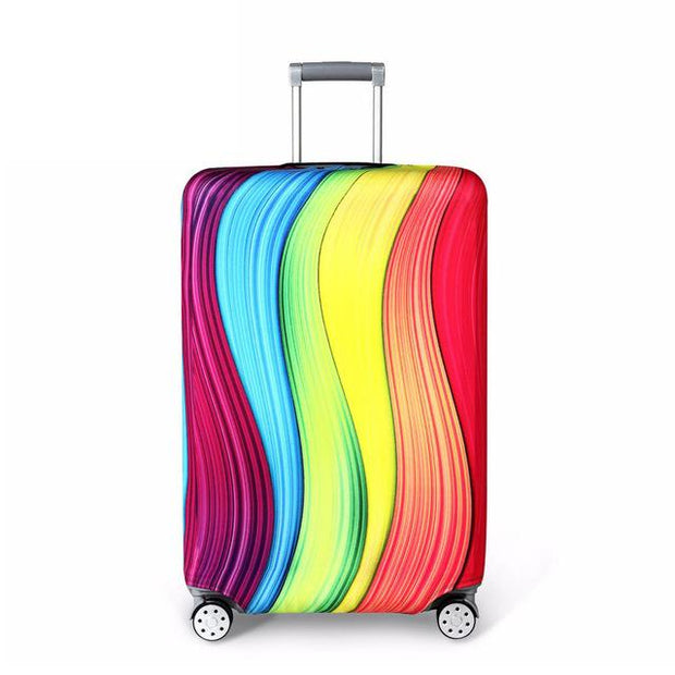Vertical Colors Luggage Cover - H / S - Luggage covers