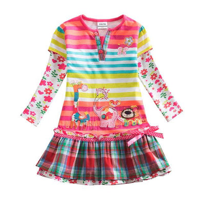 VIKITA - Playdress - REL323STARCOL / 8 - children's clothing