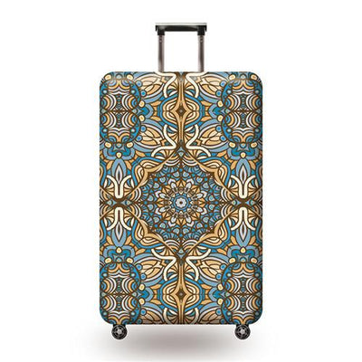Vintage Travel Luggage Cover - 01 / L - Luggage covers