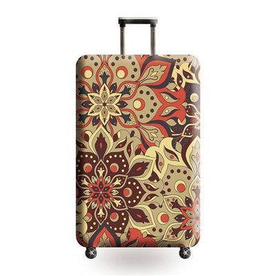 Vintage Travel Luggage Cover - 02 / L - Luggage covers