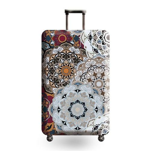 Vintage Travel Luggage Cover - 03 / L - Luggage covers