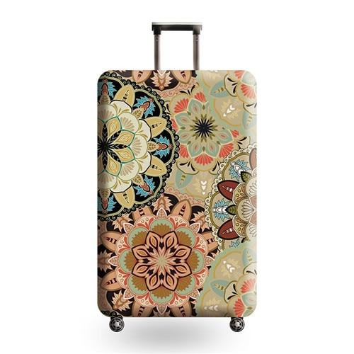 Vintage Travel Luggage Cover - 04 / L - Luggage covers