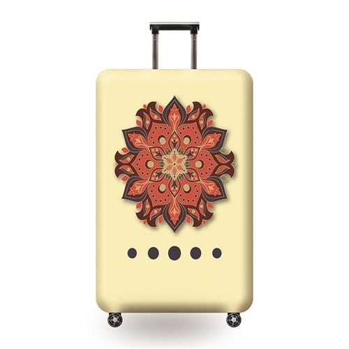 Vintage Travel Luggage Cover - 06 / L - Luggage covers