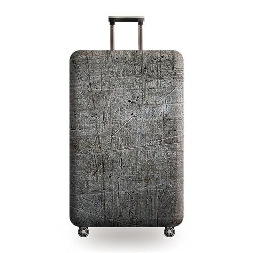 Vintage Travel Luggage Cover - 24 / L - Luggage covers