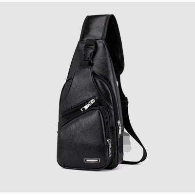 Weekender Black Pack - Men's Sling Bags