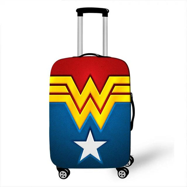 Wonder Woman Luggage Cover - pxtgothic75 / S - Luggage