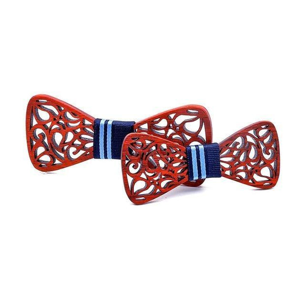 Wooden Father and Son Bowtie - Father and Son Collection
