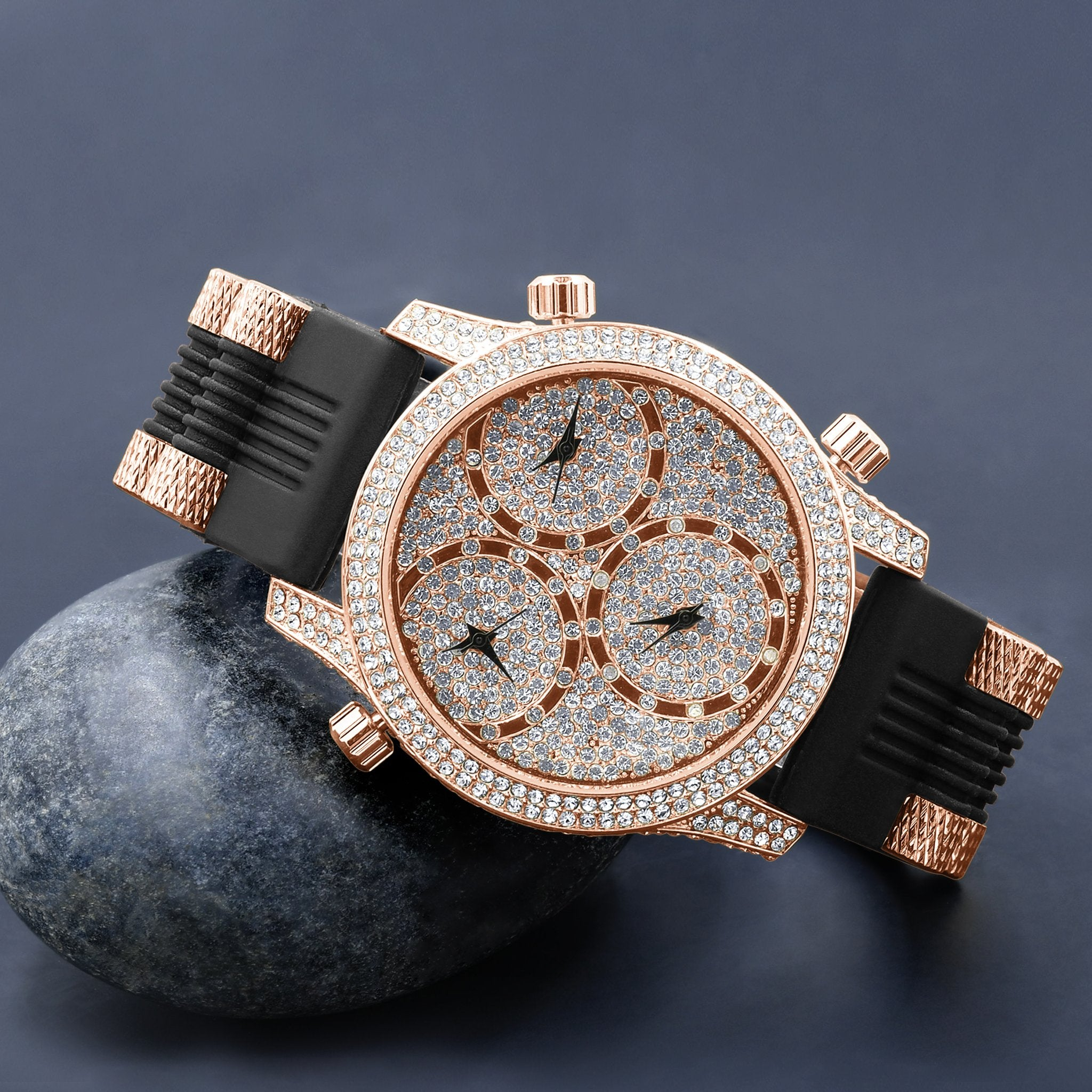 TRAVELLER Iced Out Watch
